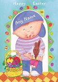 Add A Name Easter-Boy With Bunny